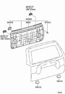 Toyota 4runner Hatch Seal