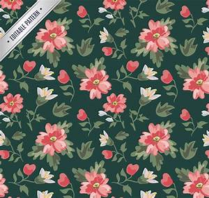 20+ Vintage Floral Patterns   Photoshop Patterns ...