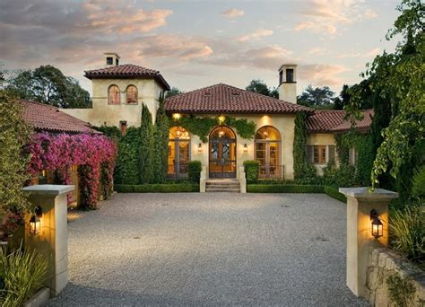 Through An Olive Grove You Arrive At This Elegant Tuscan