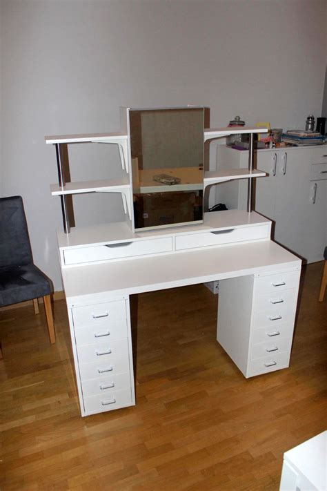 makeup vanity with lights ikea an affordable ikea dressing table makeup vanity ikea