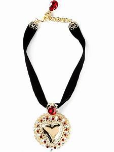 Dolce & Gabbana Heart Pendant Necklace in Gold (metallic ...