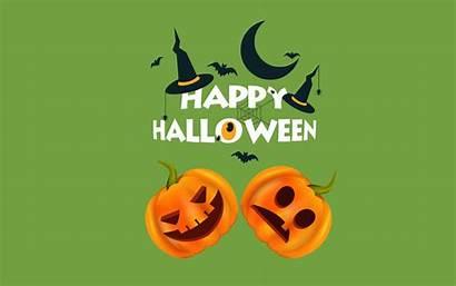 Halloween Happy Scary Wallpapers Backgrounds Pumpkins Bats