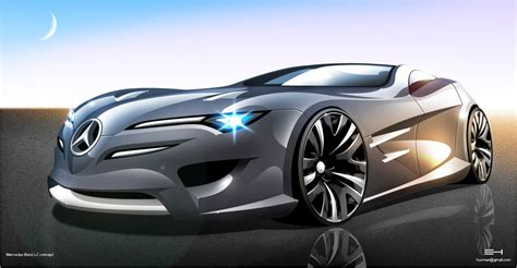 Car Design Concepts :  Mercedes Concept Cars