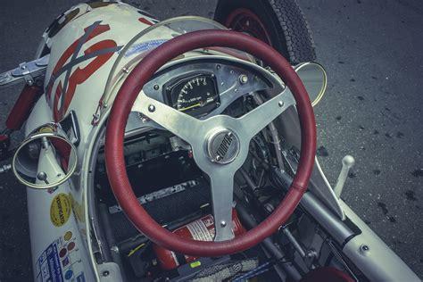 Racing Car Cockpit Free Stock Photo