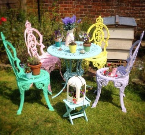 chic outdoor furniture garden furniture painting workshop Shabby