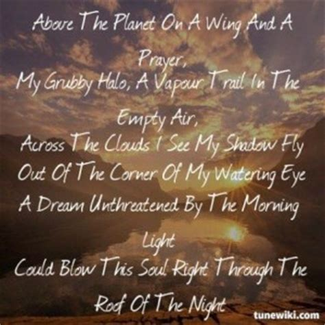 learning  fly lyric quotes quotesgram