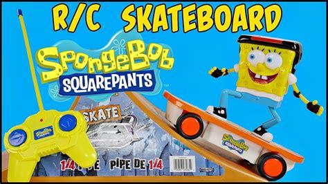 Spongebob Squarepants R/c Skateboarder Remote Control