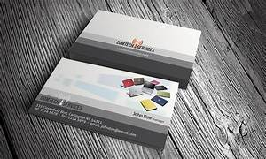 Computer business card template free download ct00001 for Computer business cards templates free
