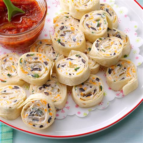 appetizer tortilla pinwheels recipe taste  home