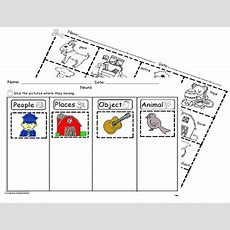 Nouns Sorting Worksheet Sla By Abc Bilingual Patch Tpt