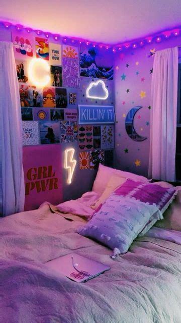 bedroom vsco dsco ledlights video room decor