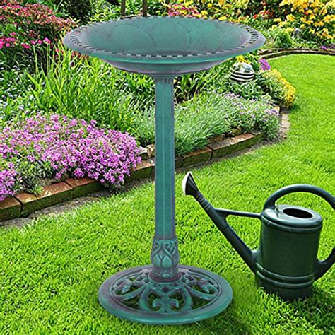 Giantex Pedestal Bird Bath Feeder Freestanding Outdoor. Dining Room Slipcovers. Home Decor Free Catalogs. Football Room Ideas. Queen Bed In Small Room. Panel Room Dividers. Game Room In House. Decorative Switch Plates Outlet Covers. Small Beach House Decor