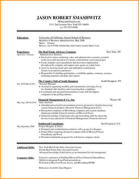 Resume Ms Word File by Free Cv Template Word Document Letter Format Mail