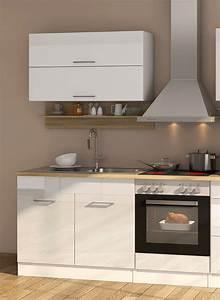 Küchenzeile Weiß Hochglanz : k chenzeile m nchen vario 1 k che mit e ger ten breite 270 cm hochglanz wei k che ~ Indierocktalk.com Haus und Dekorationen