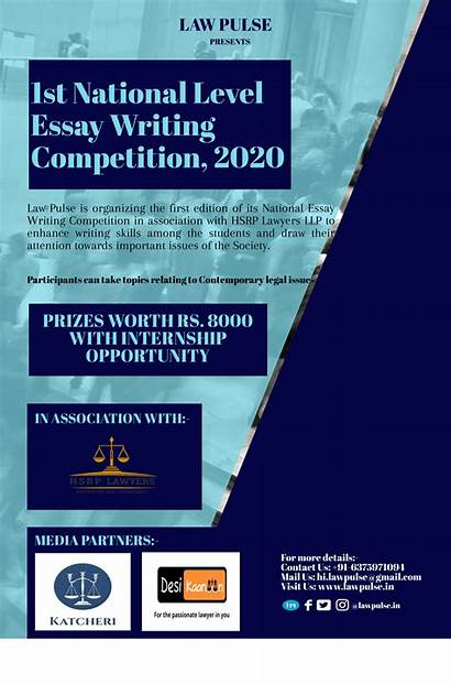 Writing Essay Competition National Level Pulse Law