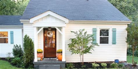 Cottage Exterior Makeover  Curb Appeal Before And After