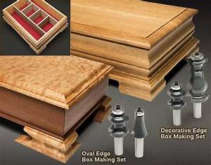 MLCS Box Making Sets with Decorative Edge and Oval Edge