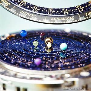 This Astronomical Watch Accurately Shows The Solar System ...