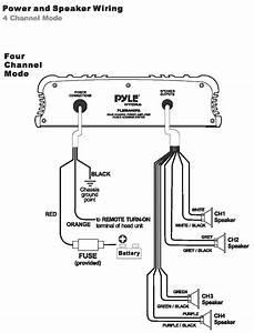 Amazon Com  Pyle Plmr440pa 4 Channel Marine Power Amplifier  Public Address System  Car Electronics