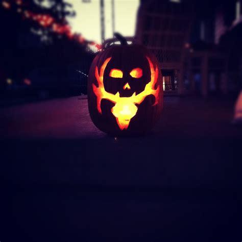 bone collector pumpkin pumpkin carving pumpkin