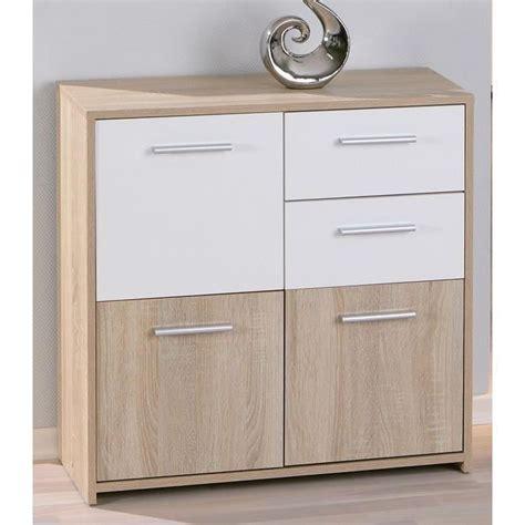 meuble bas cuisine 2 portes 2 tiroirs commode 3 portes 2 tiroirs chêne eboli achat vente commode de chambre commode 3 portes 2