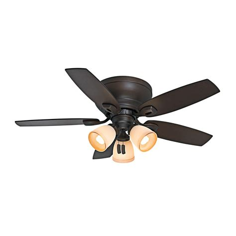 home depot 52 inch ceiling fans hunter belmor 52 inch new bronze indoor ceiling fan the