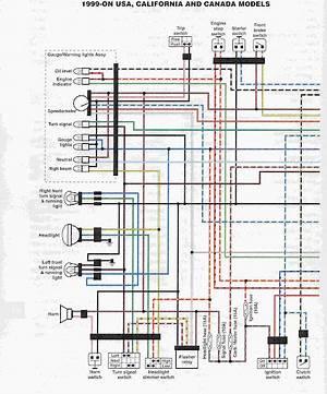 1999 V Star 1100 Wiring Diagram 26677 Archivolepe Es