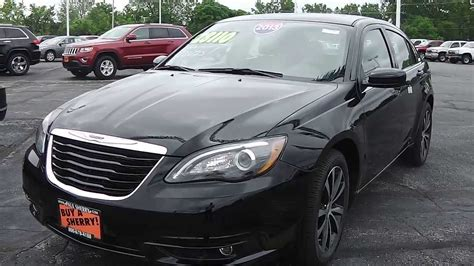 Chrysler 200s 2013 by 2013 Chrysler 200 Limited Sedan Black For Sale Dayton Troy