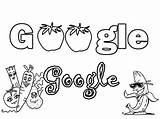 Google Coloring Pages Getcolorings Printable Fruits Designlooter Drawings sketch template