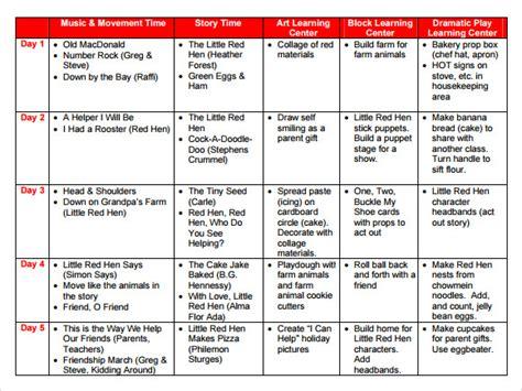 sample preschool lesson plan 10 pdf word formats 345 | Preschool Lesson Plan Template Example