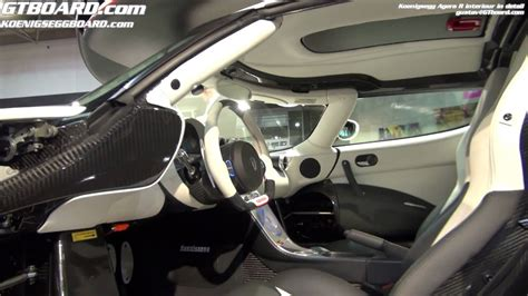 Koenigsegg Agera R Interiour In Detail