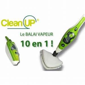 Balai Vapeur Clean Up : balai vapeur pas cher ~ Premium-room.com Idées de Décoration