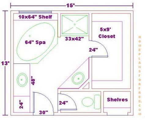 master bedroom bathroom size master bath floor plans on bathroom design 13x15 size free 13x15 master bathroom floor