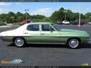 1972 Pontiac LeMans Sedan Springfield Green Poly / Green