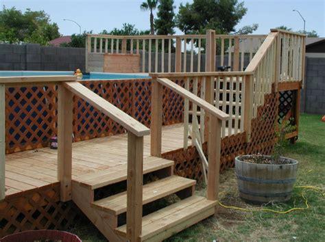 choose  ground pool stairs