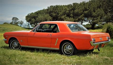 Mustang 2 Years by 42 Years Owned 1964 1 2 Ford Mustang 289 4 Speed For Sale
