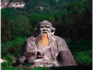 Statue Of Laozi In Quanzhou  China