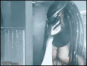 nutella bathroom prank gif geeky animated gif monday vs predator shower