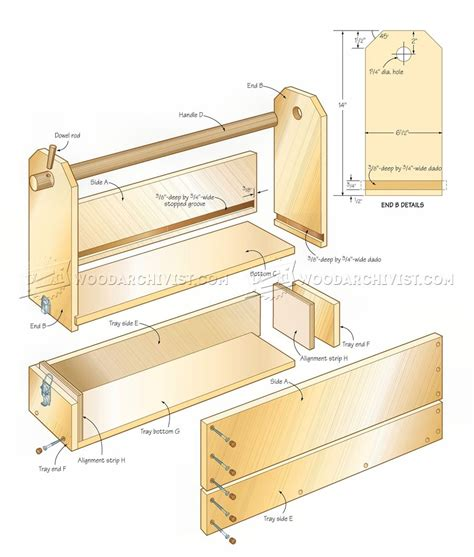 luxury woodworking toolbox plans smakawycom