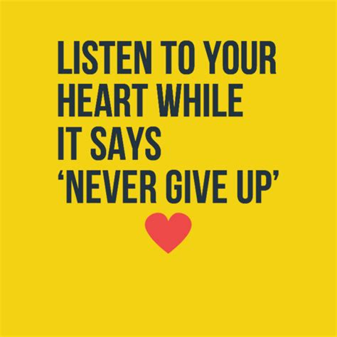 Never Give Up On Our Love Quotes