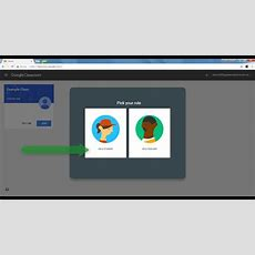 Google Classroom  02 First Time Student Login Youtube