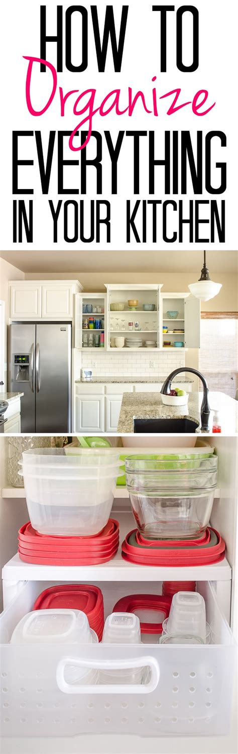 how to organize a kitchen how to organize everything in your kitchen polished habitat