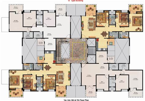 big house floor plans 3d floor plan of a mansion modern house
