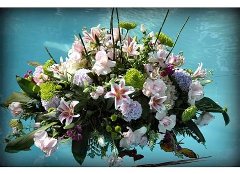 floating flower arrangement 1000 images about pool decol on pinterest