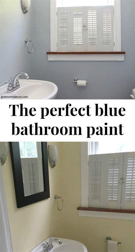 krypton blue bathroom painted walls banner green  decor