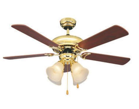 turn of the century fans turn of the century minerva 44in bright brass ceiling