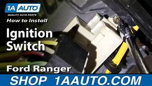 How To Install Replace Ignition Switch Ford Ranger 95