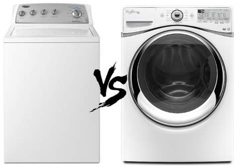 front load top load washing machine which is better 2019
