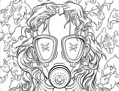 Coloring Pages Adult Cool Chuck Colouring Palahniuk
