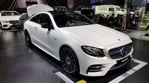 Mercedesamg E53 Coupe Hits Detroit As The Most Powerful